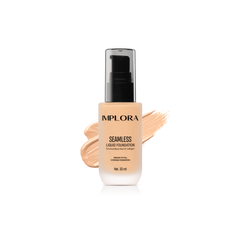 Implora Seamless Liquid Foundation 210 Classic Nude