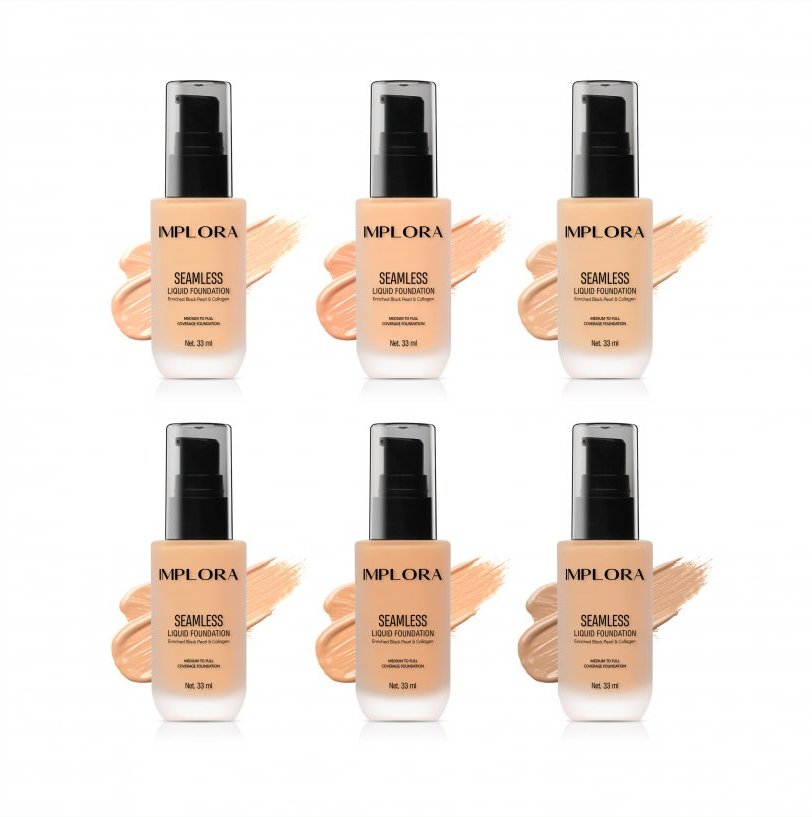 Implora Seamless Liquid Foundation